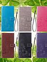 ケース 用途 Samsung Galaxy Note 9 / Note 8 ウォレット / カードホルダー / スタンド付き フルボディーケース 曼荼羅 / バタフライ ハード PUレザー のために Note 5 / Note 4 / Note 3