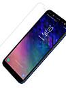Screenprotector voor Samsung Galaxy A6 (2018) PET 1 stuks Voor- en cameralensbeschermer Ultra dun / Mat / Krasbestendig