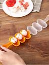 ABS Náčiní na suši Nový design Multifunkční Tvůrčí kuchyně Gadget Kuchyňské náčiní Multifunkční Pro kuchyňské náčiní pro Rice 1ks