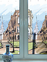Window Film & Stickers Decoration Artistic / Retro 3D Print PVC(PolyVinyl Chloride) Creative