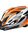 成人 バイクヘルメット 18 通気孔 サイズ調整機能 ESP+PC スポーツ サイクリング / バイク バイク - 黒 / 赤 黒 / 青 シルバー + オレンジ 男女兼用