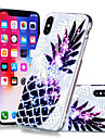 Pouzdro Uyumluluk Apple iPhone X / iPhone 8 Plus Temalı Arka Kapak Meyve Yumuşak TPU için iPhone X / iPhone 8 Plus / iPhone 8