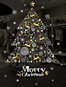 Window Film & Stickers Decoration Christmas Holiday PVC(PolyVinyl Chloride) Glossy / Window Sticker / Hall / Shop / Cafe