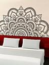 Koriste-seinätarrat - 3D-seinätarrat Muodot / Kukkakuviot Olohuone / Makuuhuone