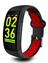 KUPENG Q6S Unisex Smart-Armband Android Bluetooth Sport Wasserfest Herzschlagmonitor Blutdruck Messung Touchscreen Stoppuhr Schrittzaehler Anruferinnerung AktivitaetenTracker Schlaf-Tracker