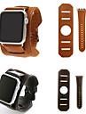 Watch kapela pro Apple Watch Series 4/3/2/1 Apple Kožená smyčka Kůže / Pravá kůže Poutko na zápěstí