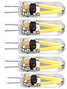 5 stuks 2 W 380 lm G4 2-pins LED-lampen T 2 LED-kralen COB Decoratief Warm wit 12 V