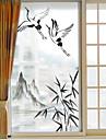 Window Film & Stickers Decoration Artistic / Retro / Classical Classic PVC(PolyVinyl Chloride) Door Sticker