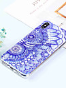 Huelle Fuer Apple iPhone XR / iPhone XS Max Muster Rueckseite Blume Weich TPU fuer iPhone XS / iPhone XR / iPhone XS Max