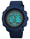 SKMEI Pánské Sportovní hodinky Vojenské hodinky Digitální hodinky japonština Digitální Z umělé kůže Černá / Modrá / Zelená 50 m Voděodolné Alarm Kalendář Digitální Luxus Módní - Zelená Modrá Čern