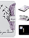 Case For Apple iPhone XS / iPhone XS Max Wallet / Card Holder / with Stand Full Body Cases Feathers Hard PU Leather for iPhone XS / iPhone XR / iPhone XS Max