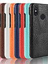 Case สำหรับ Xiaomi Mi 8 SE / Mi 6 Plus Frosted ปกหลัง สีพื้น Hard หนัง PU สำหรับ Xiaomi Redmi Note 5 Pro / Xiaomi Redmi Note 6 / Xiaomi Redmi Note 4X