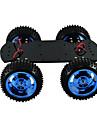 4wd-Vollmetallmotor-Smart-Car-Chassis grosser Drehmomentroboter Arduino
