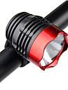 LED Fietsverlichting Koplamp fiets Fietskoplamp Bergracen Wielrennen Waterbestendig Draagbaar Eenvoudige installatie CR2032 800 lm Wit Kamperen / wandelen / grotten verkennen Fietsen / Meerdere modi