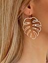 女性用 ドロップイヤリング イヤリング ココナッツの木 レディース スタイリッシュ シンプル ジュエリー ゴールド / シルバー 用途 日常 1ペア
