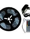 SENCART 5 m Sets de Luces 300/150 LED SMD5050 Controlador remoto de 1 44 teclas / Adaptador de corriente 1 x 2A RGB Cortable / Decorativa / Conectable 100-240 V 1 juego