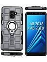 Custodia Per Samsung Galaxy A8 Plus 2018 / A8 2018 Resistente agli urti / Supporto ad anello Per retro Armatura Morbido TPU per A5(2018) / A8 2018 / A8+ 2018