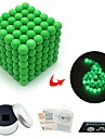 216 pcs 3mm Magnet Toy Magnetic Balls Magnet Toy Building Blocks Magnetic Glow-in-the-dark Stress and Anxiety Relief Office Desk Toys Relieves ADD, ADHD, Anxiety, Autism Novelty Kid\'s / Adults\' All