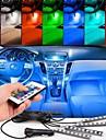 auto svjetla vodio strip neonska svjetiljka dekorativna atmosfera svjetla unutrašnjost automobila svjetlo