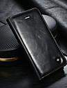 CaseMe Custodia Per Apple Custodia iPhone 5 A portafoglio / Porta-carte di credito / Con supporto Integrale Tinta unita Resistente pelle sintetica per iPhone SE / 5s / iPhone 5