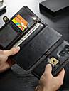 CaseMe Custodia Per Samsung Galaxy S9 Plus A portafoglio / Porta-carte di credito / Resistente agli urti Integrale Tinta unita Resistente pelle sintetica per S9 Plus