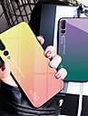 غطاء من أجل Huawei P20 / P20 Pro مرآة غطاء خلفي لون متغاير قاسي زجاج مقوى إلى Huawei P20 / Huawei P20 Pro / Huawei P20 lite