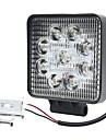 so.k 1-osainen autolamppu 27 w integroitu led 6000 lm 9 led-valo / päivänvalon valo / merkkivalo / sumuvalo kaikille vuosille