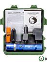 U\'King פנס LED LED LED Emitters 2000 lm 5 מצב תאורה עם סוללה ומטענים Zoomable מיקוד מתכוונן Spottivalo מחנאות / צעידות / טיולי מערות שימוש יומיומי רב שימושי כחול