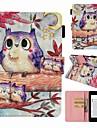 """Custodia Per Amazon Kindle PaperWhite 4 Porta-carte di credito / Resistente agli urti / Fantasia / disegno Integrale Fantasia """"Gufo"""" Resistente pelle sintetica per Kindle PaperWhite 4"""