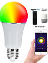 E27 7W LED Smart WIFI Bulbs Beads SMD 5730 Works With Amazon Alexa / APP Control / Google Home RGBW 85-265V