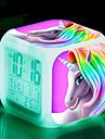 Ébresztőóra Digitális Műanyagok Automatikus 1 pcs