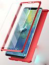 غطاء من أجل Huawei P20 / Huawei Mate 20 ضد الصدمات غطاء كامل للجسم لون سادة قاسي الكمبيوتر الشخصي إلى Huawei P20 / Huawei P20 lite / Huawei P9 Plus