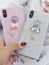 Custodia Per Apple iPhone XS Max / iPhone 6 Glitterato Per retro Glitterato Resistente TPU per iPhone XS / iPhone XR / iPhone XS Max