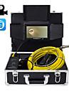 """23 מ""""מ עדשה אנדוסקופ תעשייתי 40m עבודה אורך תיקון רכב בדיקה צינור תיקון 7 אינץ \'עם מצלמת וידאו"""