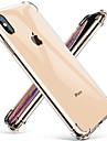 Custodia per apple iphone xr iphone xs max trasparente cover posteriore antiurto ultra-sottile tinta unita dura per iphone 8 8 plus 7 plus 7 xs