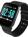 St6 pulsera inteligente reloj monitor de ritmo cardiaco actividad de la presion arterial rastreador de fitness pulsera inteligente para ios android